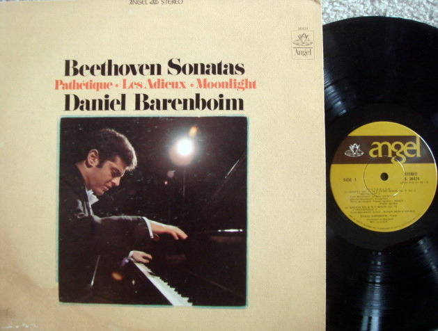 EMI Angel / BARENBOIM,  - Beethoven Piano Sonatas Moonlight,  NM-!