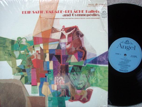 EMI Angel Blue / AURIACOMBE, - Satie Gymnopedies, Parade, NM!
