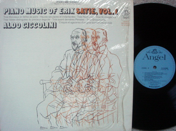 EMI Angel Blue / CICCOLINI,  - Satie Piano Music Vol.1,  NM!