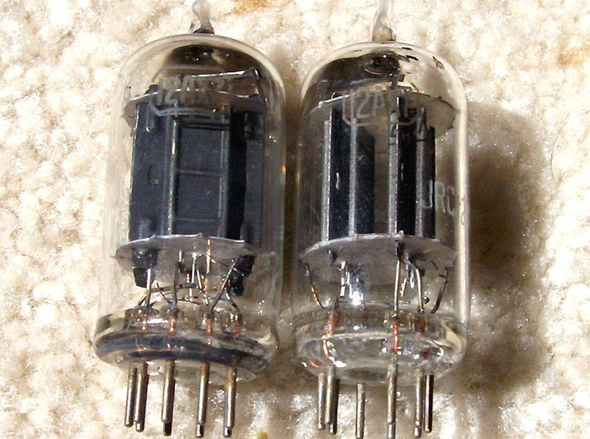 RCA 12AX7 (1952) Originals Matched Pair--NOS Test Try the REAL RCA 12AX7