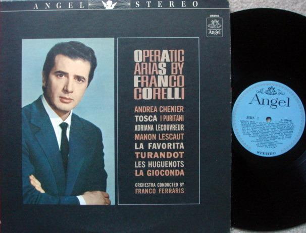 EMI Angel Blue / CORELLI, - Operatic Arias, NM!