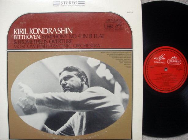 EMI Angel Seraphim / KONDRASHIN, - Beethoven Symphony No.4,  NM!