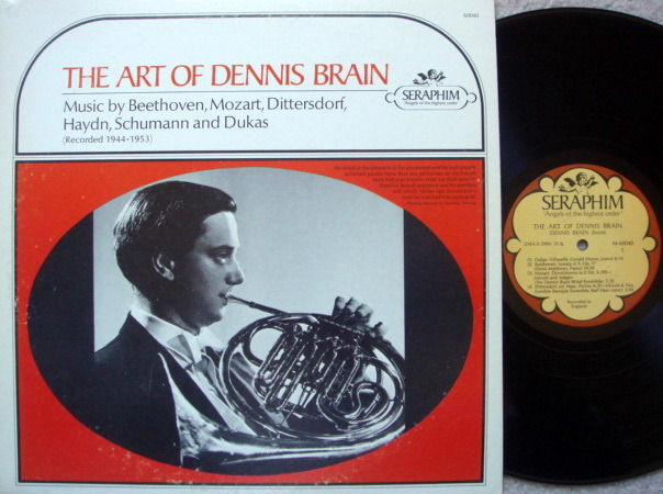 EMI Angel Seraphim / DENNIS BRAIN, - The Art of Dennis Brain,  NM-!