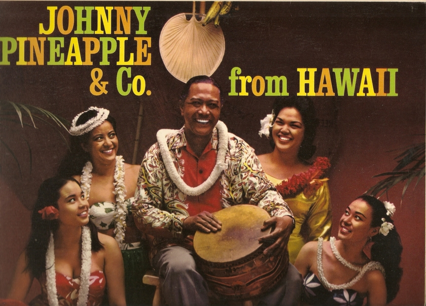 JOHNNY PINEAPPLE - JOHNNY PINEAPPLE & CO FROM HAWAII