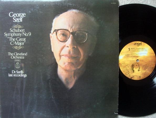 EMI Angel / SZELL, - Schubert Symphony No.9 The Great,  NM!
