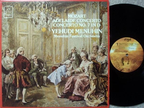 EMI Angel / MENUHIN, - Mozart Violin Concerto No.7 Adelaide,  NM!
