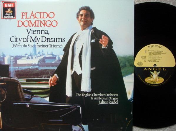 EMI Angel Digital / PLACIDO DOMINGO, - Vienna, City of My Dreams, NM!