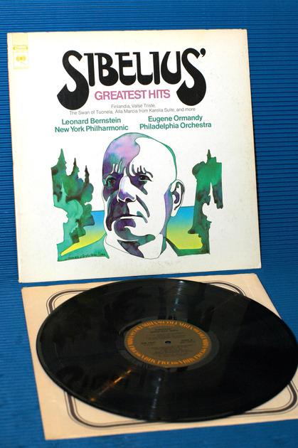 "SIBELIUS/Bernstein/ Ormandy -  - ""Greatest Hits"" - Columbia Masterworks 1970"