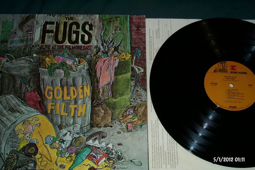 The fugs - Golden Filth lp nm