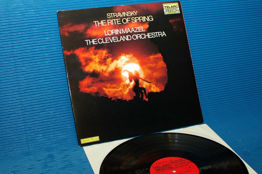 "STRAVINSKY/Maazel -  - ""The Rite of Spring"" -  Telarc 1980 Import"
