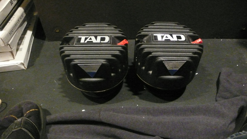 TAD TD-4002 horn drivers with factory beryllium diaphragms
