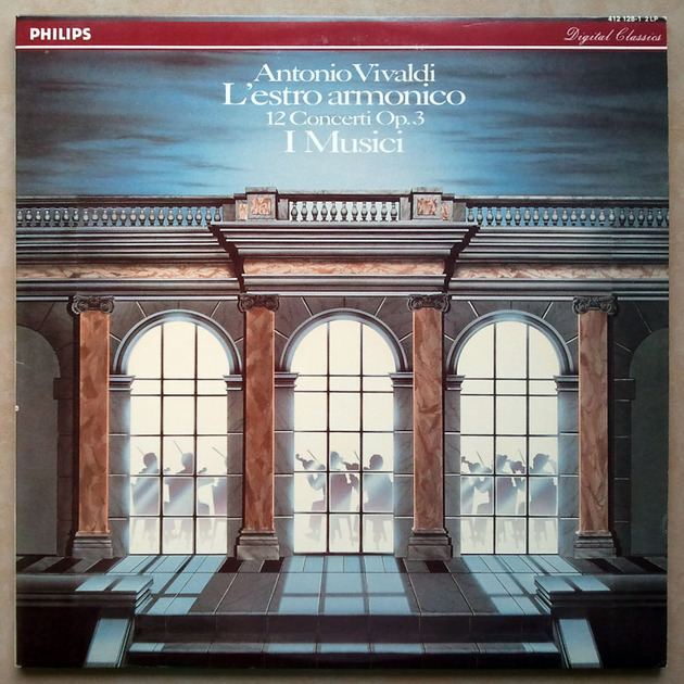 PHILIPS Digital | I MUSICI/VIVALDI - L'estro Armonico / 2-LP / NM