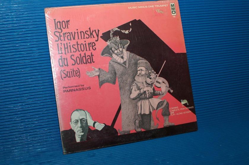 """STRAVINSKY/Parnassus -  - """"L'Histoire du Soldat (Suite)"""" -  Music Minus One"""