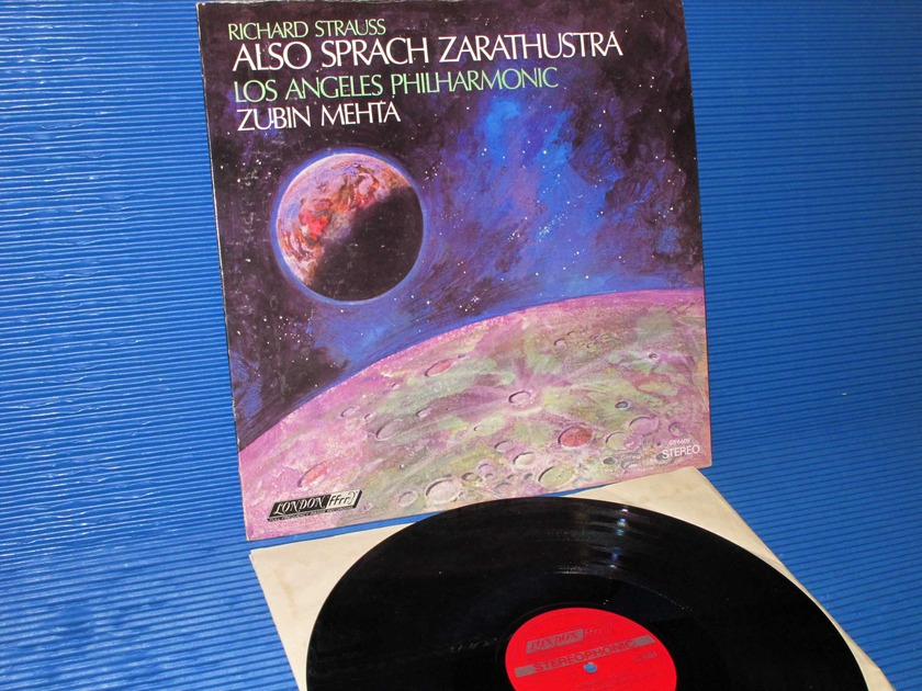 "STRAUSS/Mehta -  - ""Also Sprach Zarathustra"" -  London 1968 TAS List"