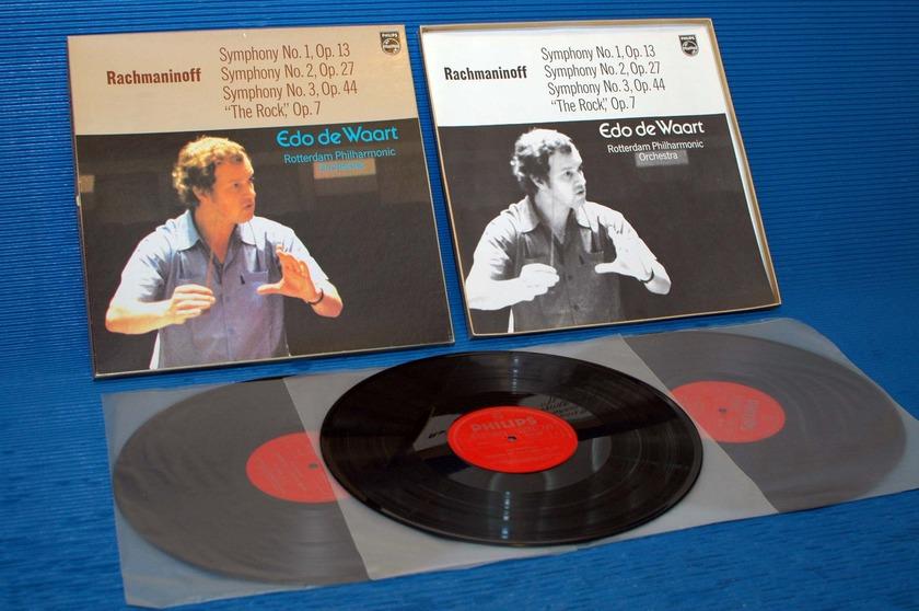 "RACHMANINOFF/deWoort -  - ""Symphony 1-3"" -  Philips Import 1973"