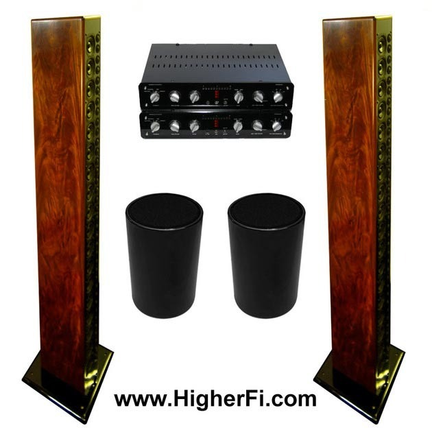 "Pipedreams Nearfield Acoustics 18 in ""Crotch Wood"" 70% off, free layaway, lowest price, trades ok"