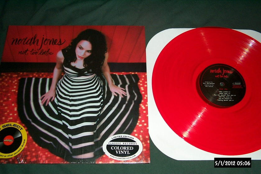 Norah Jones - Not Too Late limited edition lp only 500 made