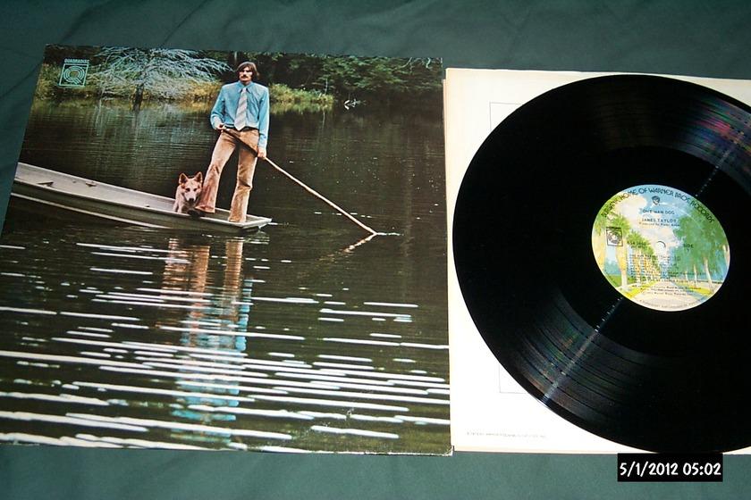 James taylor - CD-4 Quadradisc one man dog