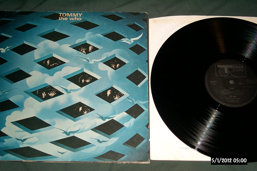 The who - Tommy 2LP Track uk lp nm