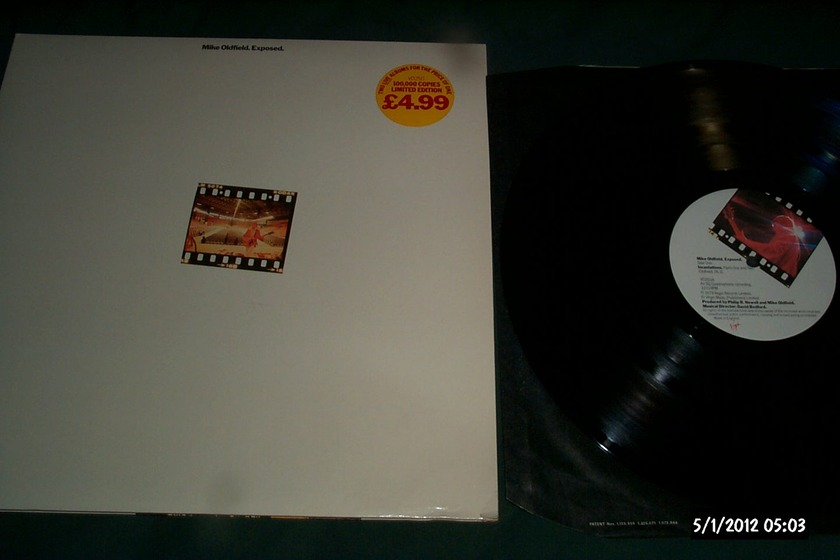 Mike Oldfield - Exposed 2 LP UK SQ Quadraphonic