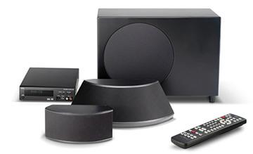 NIRO (Nakamichi Founder) SPHERICAL SURROUND SYSTEM (SSS) Niro Home Theatre Surround Sound System