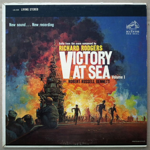 RCA White Dog | - VICTORY AT SEA - Vol. 1 / NM