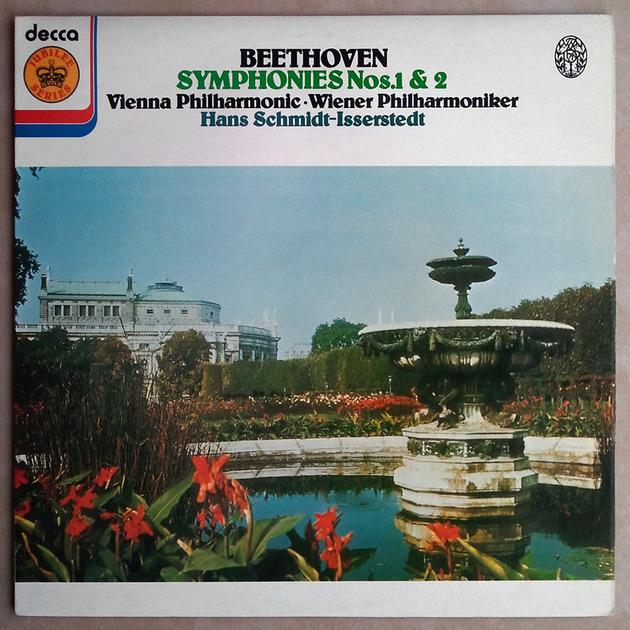 DECCA   SCHMIDT-ISSERSTEDT/BEETHOVEN - Symphony Nos. 1 & 2 / NM