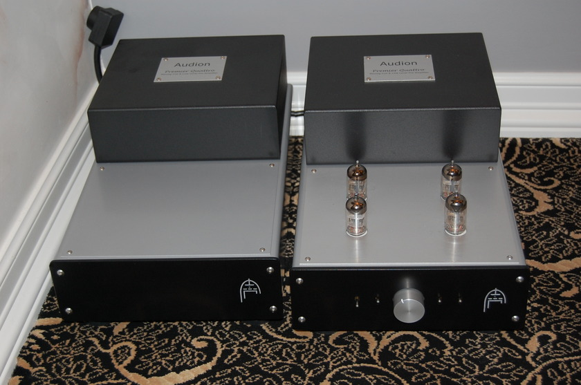 Audion quattro  PRE AMP with phonovery rare