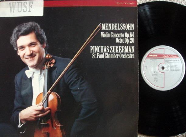 Philips Digital / ZUKERMAN, - Mendelssohn Violin Conerto, NM!