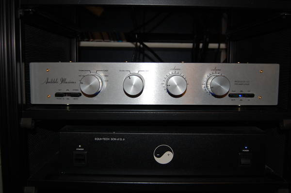 Audible Illusions M3A John Curl LoMC phono stage