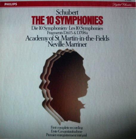 Philips Digital / MARRINER, - Schubert The Complete Symphonies, NM, 7LP Box Set!