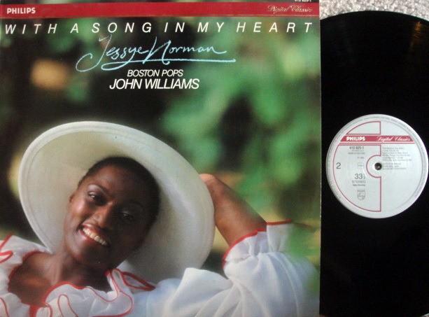 Philips Digital / JESSEY NORMAN, - With a Song in My Heart,  NM!