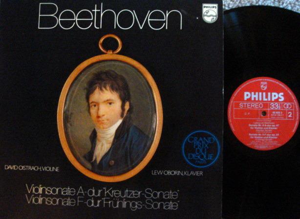 Philips / OISTRACH-OBORIN, - Beethoven Violin Sonatas No.5 & 8, NM!