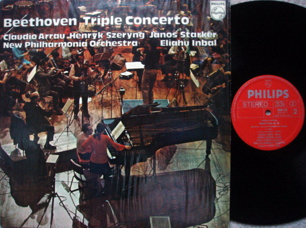 Philips / STARKER-SZERYNG-ARRAU, - Beethoven Triple Concerto, NM!