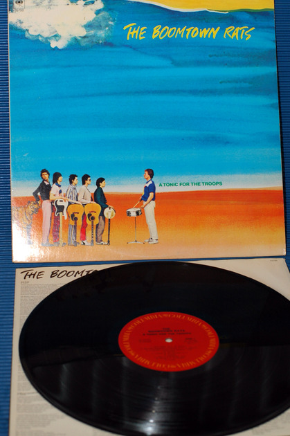 """THE BOOMTOWN RATS -  - """"A Tonic For The Troops"""" -  Columbia 1979"""
