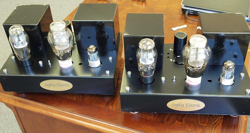 Sophia Electric 91-01 300B Mono-block  tube amplifiers, single ended MAGIC SOUND!!!