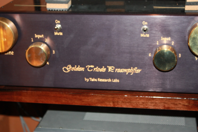 TUBE RESEARCH GTP-3 PREAMP
