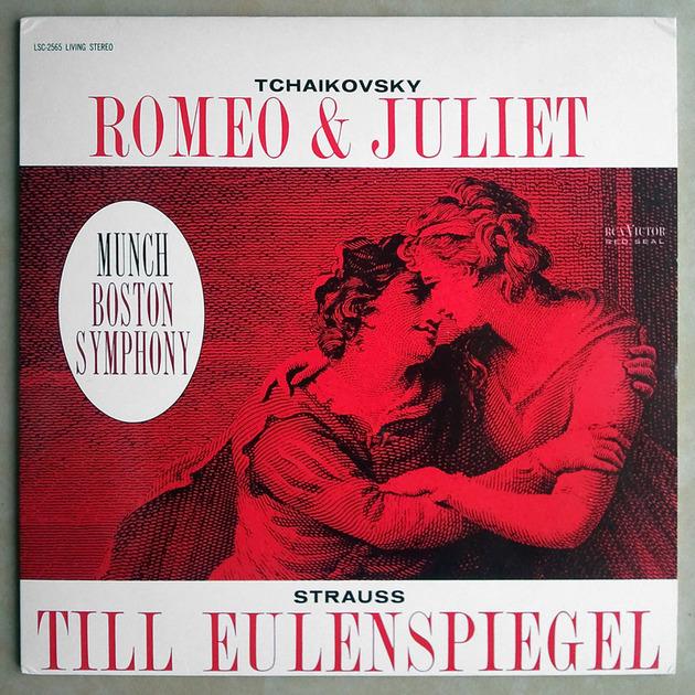 180G CLASSIC RECORDS | MUNCH/TCHAIKOVSKY - Romeo & Juliet/STRAUSS Till Eulenspiegel / AUDIOPHILE / NM