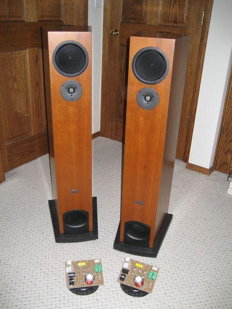 linn 5140B Aktiv speakers cherry speakers