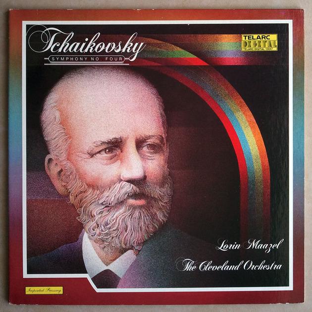 Audiophile TELARC   MAAZEL/TCHAIKOVSKY - Symphony No. 4 / NM