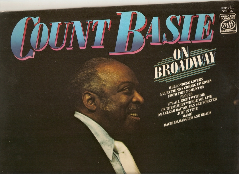 COUNT BASIE - COUNT BASIE ON BROADWAY