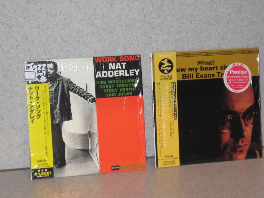 Rare Jazz Japanese Imports - Mini LP Cds Great Titles!!!!!!!!!!!!!!