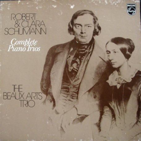 Philips / BEAUX ARTS TRIO, - Schumann Complete Piano Trios, NM, 2LP Box Set!