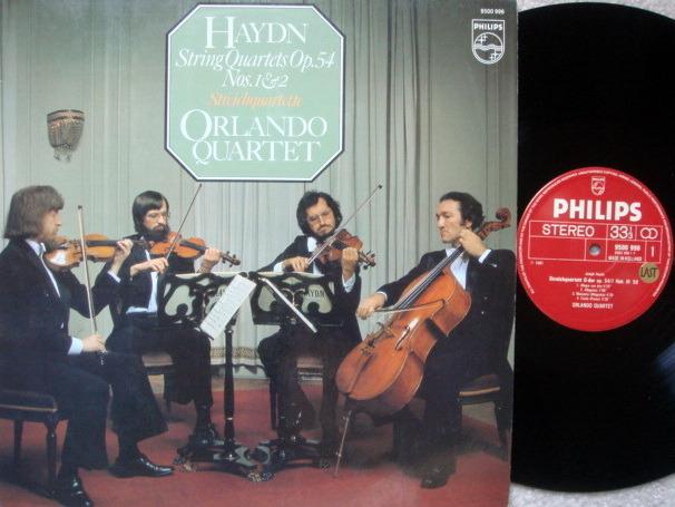 Philips / ORLANDO QT, - Haydn String Quartets No.1 & 2,  NM!