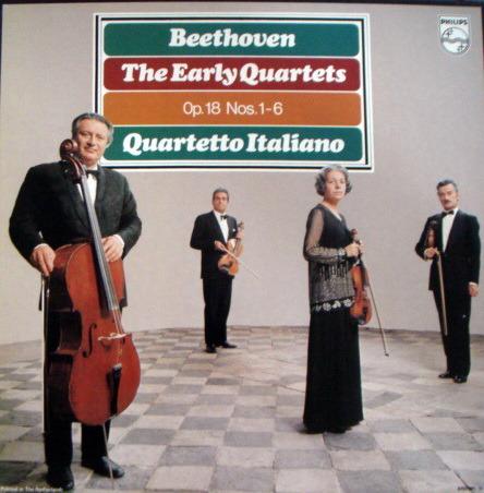 Philips / QUARTETTO ITALIANO, - Beethoven The Early Quartets, NM, 3LP Box Set!