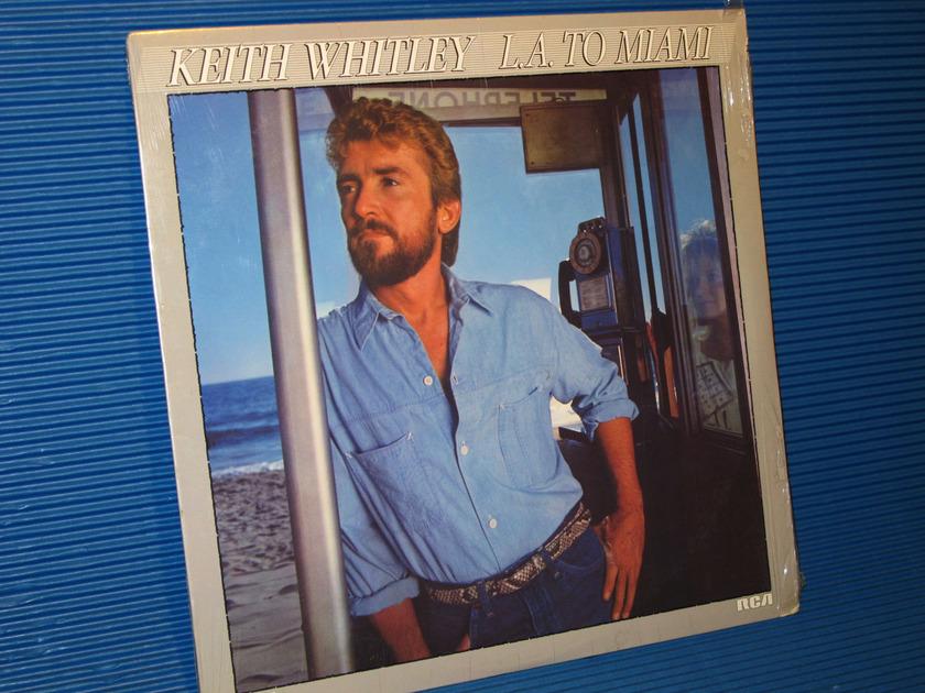 """KEITH WHITLEY -  - """"LA to Miami"""" -  RCA 1985 Sealed"""