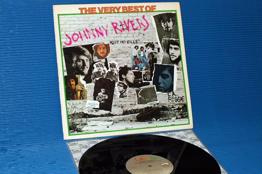 "JOHNNY RIVERS -  - ""The Very Best Of Johnny Rivers"" - Liberty 1976"
