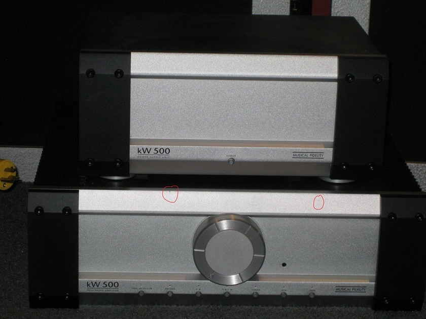 Musical Fidelity KW 500 1 owner