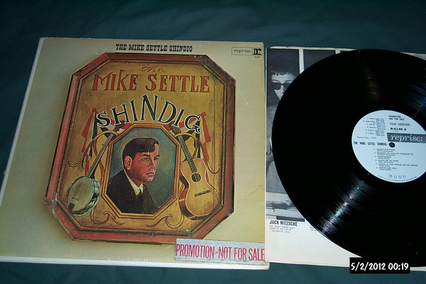 Mike Settle - Mike Settle Shindig wlp mono reprise label