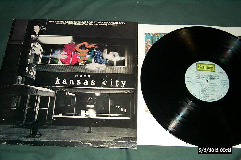 Velvet Underground - Live At Max's kansas city lp nm